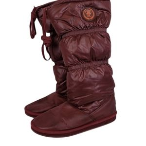 Rocket Dog Quilted Puffer Tall Winter Boots Size 10